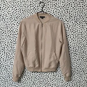AA Tan Lightweight Bomber Jacket